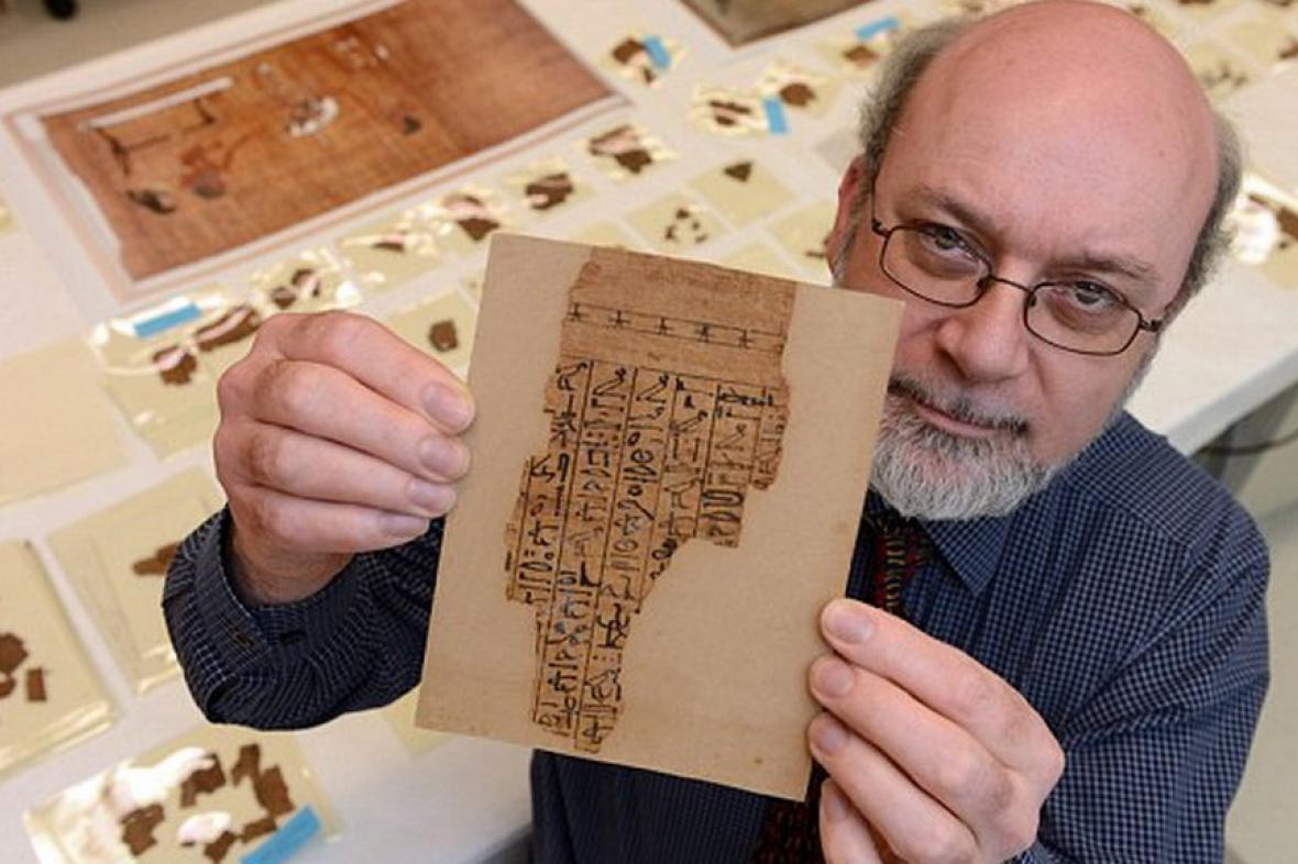 Papyrové svitky z Knihy mrtvých