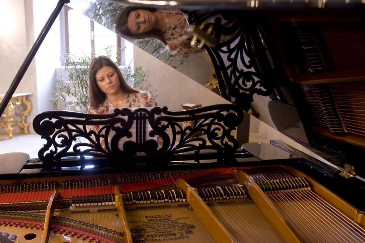 Unikátní Klavírní křídlo Bechstein v klášteře Zlatá koruna