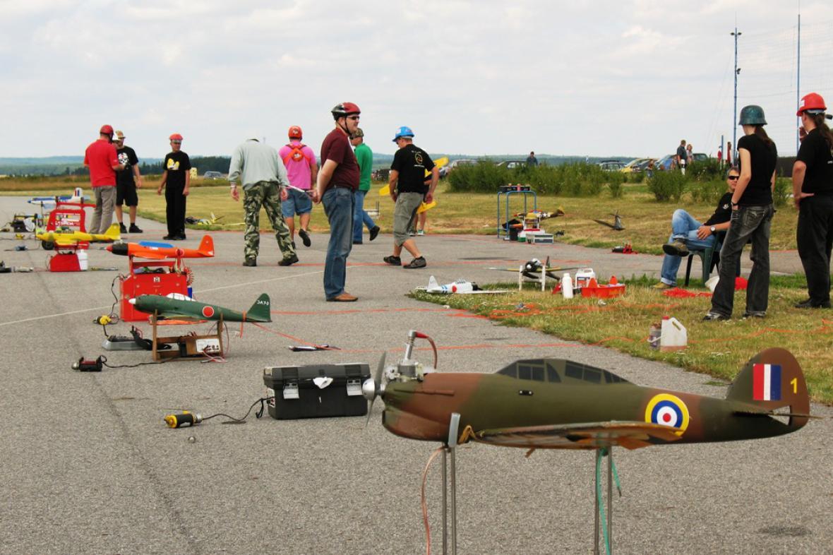 Ilustrační foto z modelářského letiště Model City