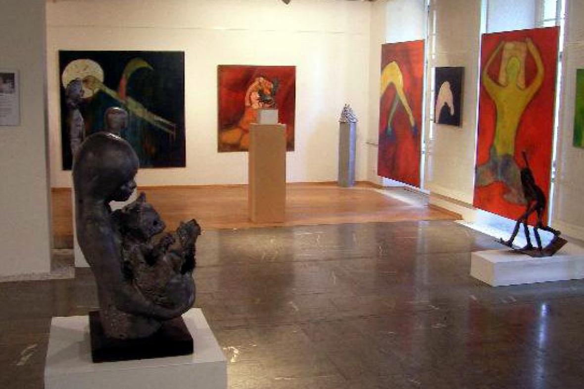 Výstava obrazů Nenada Djapiče