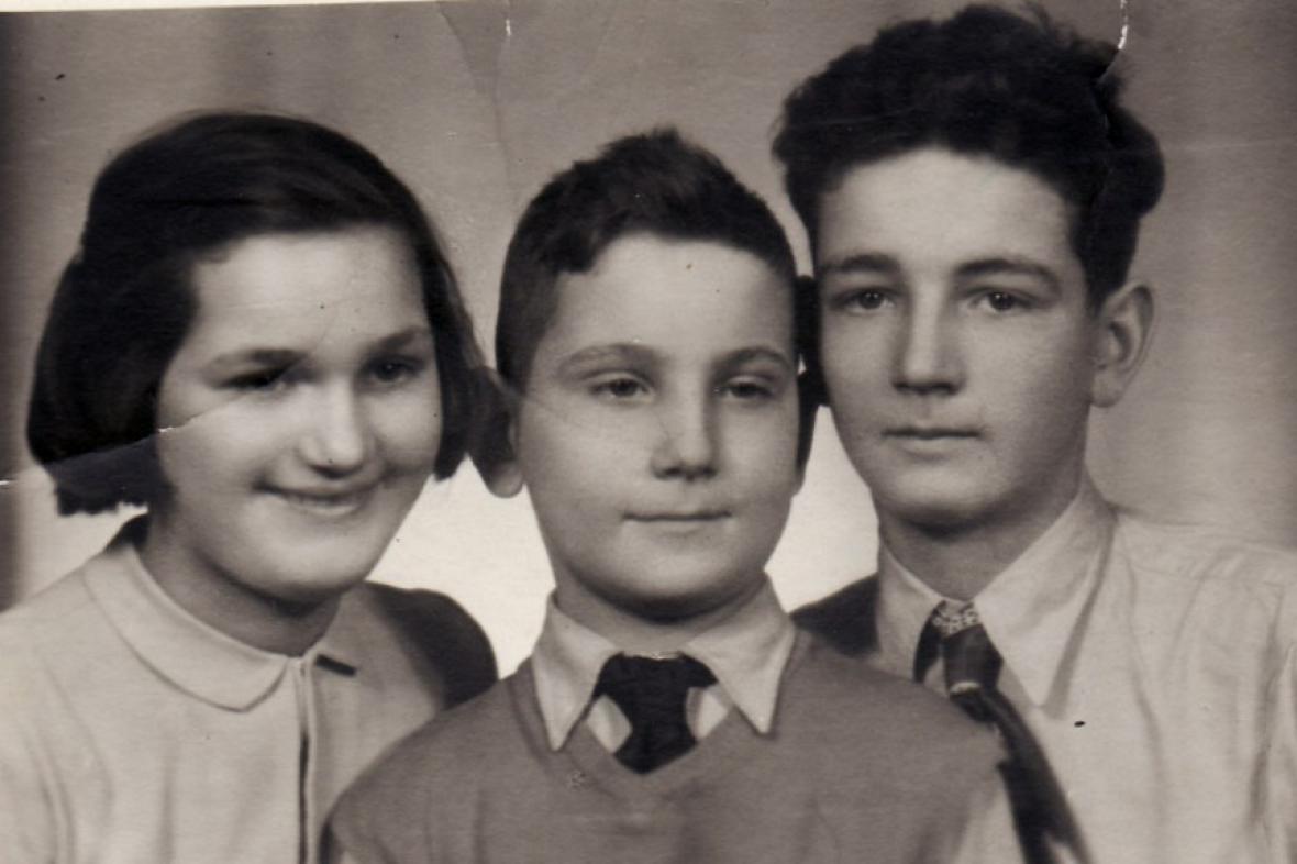 Děti 50. let / Švýcarský Robinson - Jan Hlach