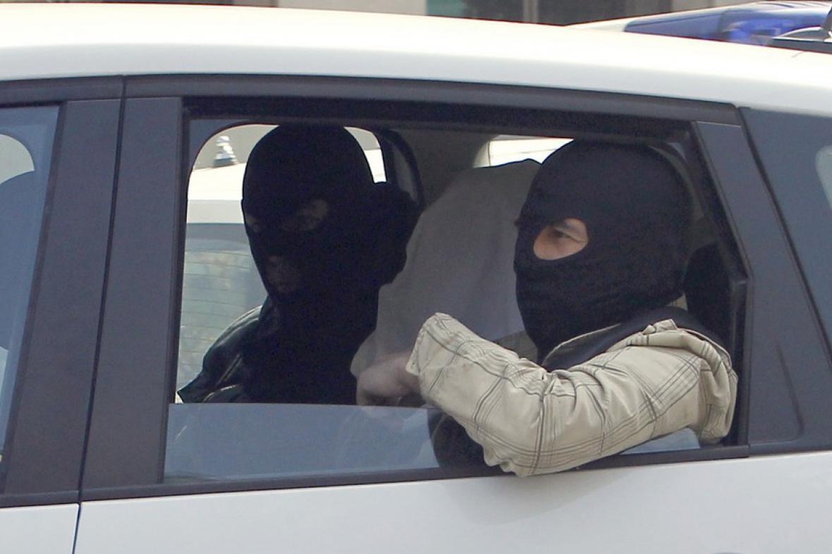 Maskovaný muž pokládaný za bratra Mohammeda Meraha