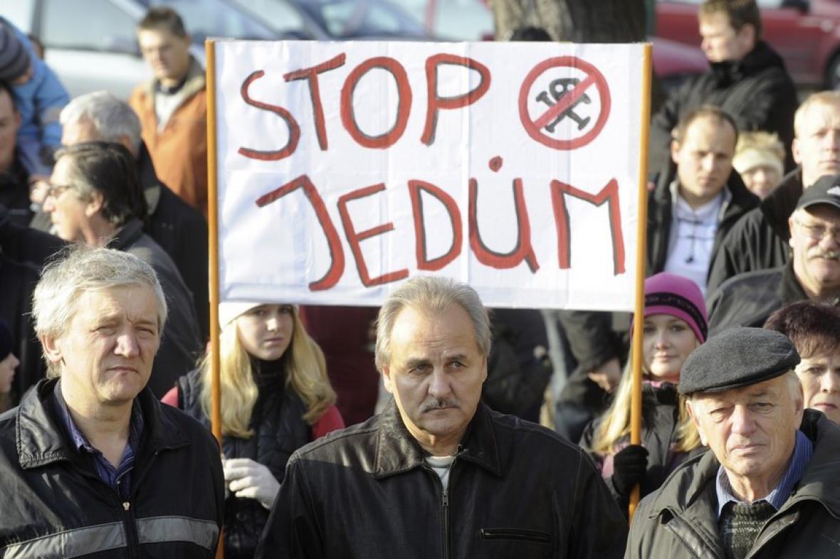Protesty v Litoměřicích