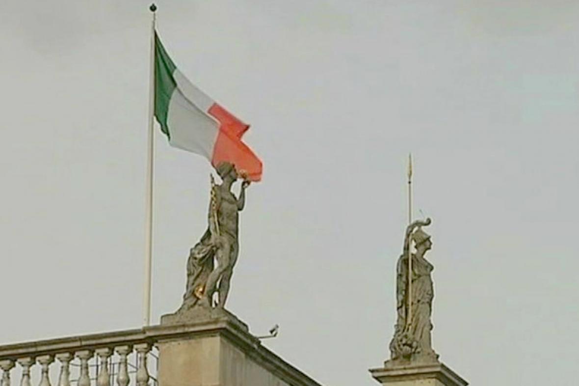 Irská vlajka