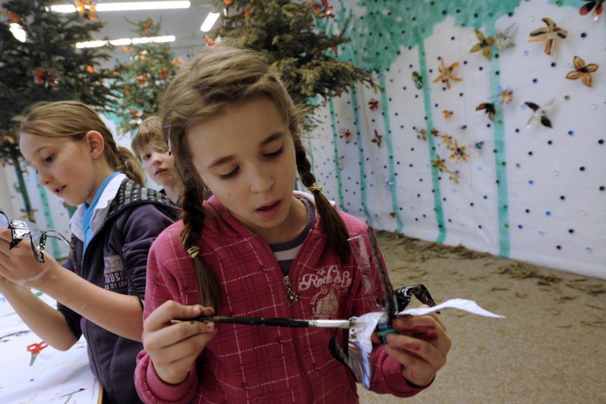 Recyklace v umění (Galerie umění pro děti)