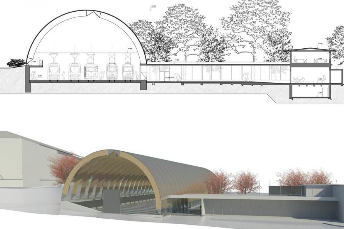 Projekt tramvajového muzea