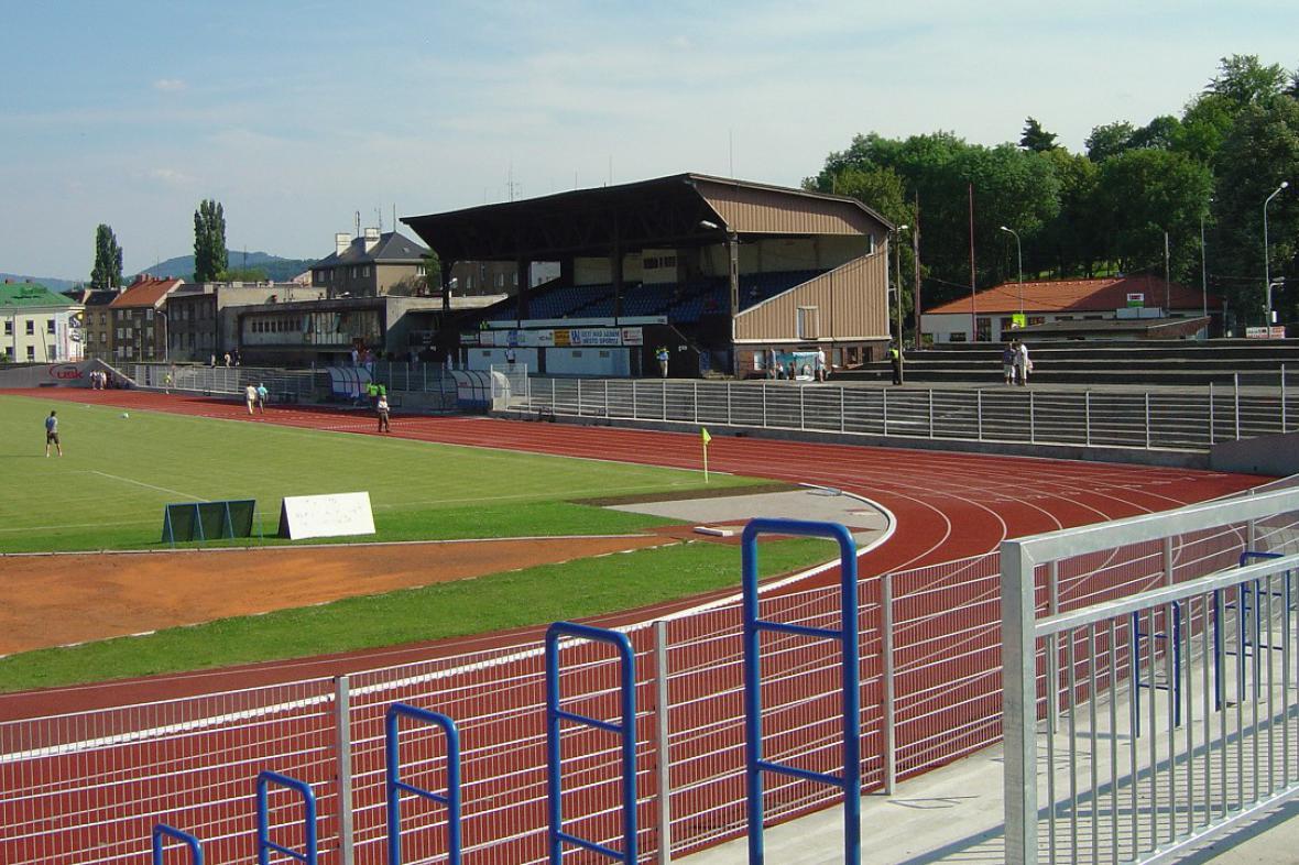 Městský stadion v Ústí nad Labem