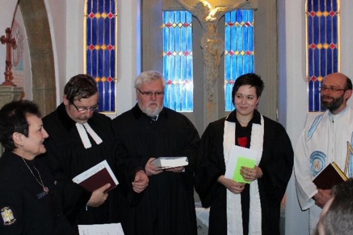 Otevření vězeňské kaple v Teplicích