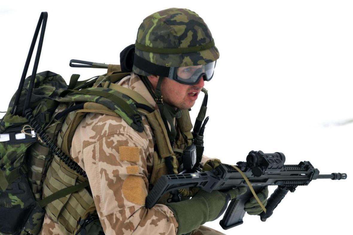 Vojenský výcvik v Libavé