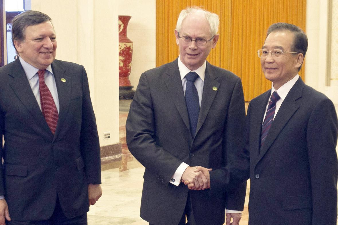 Barroso a van Rompuy na návštěvě Číny