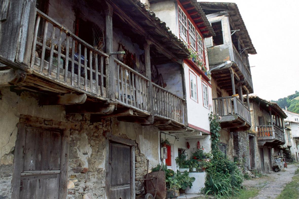 Asturská vesnice Corias
