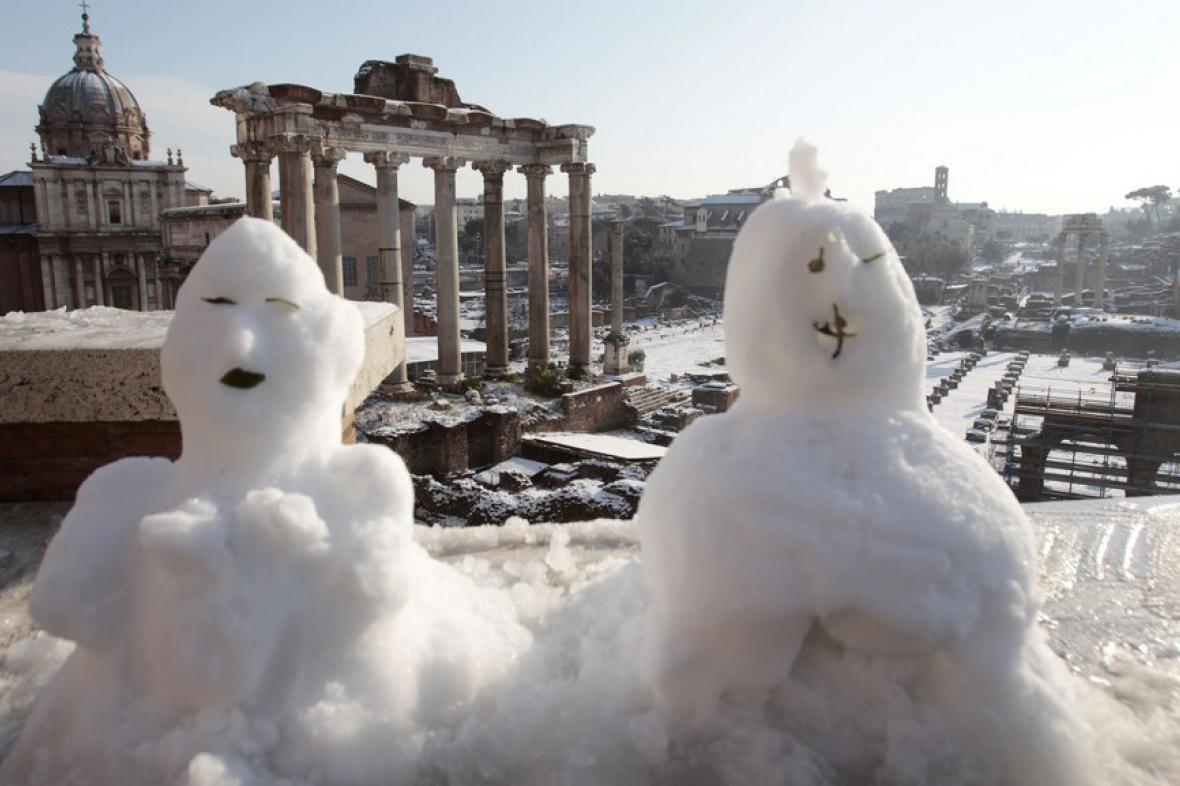 Římští sněhuláci
