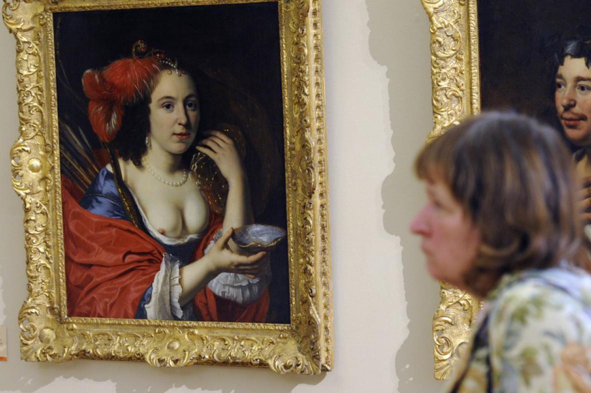 Z výstavy Rembrandt & Co. v Národní galerii