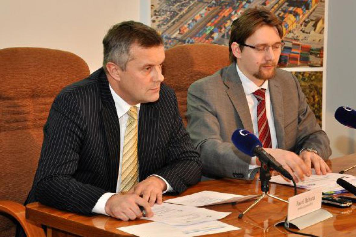 Pavel Habarta s Pavlem Dobešem