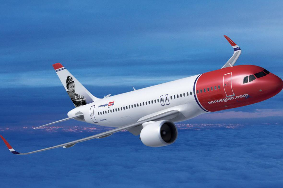 Letoun Norwegian Air Shuttle