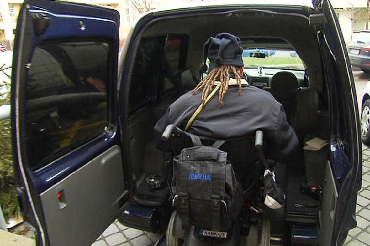 Taxi pro vozíčkáře