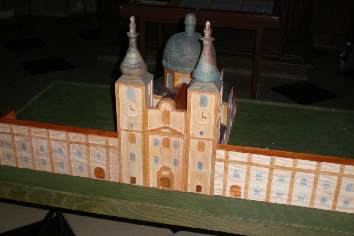 modely kostelů