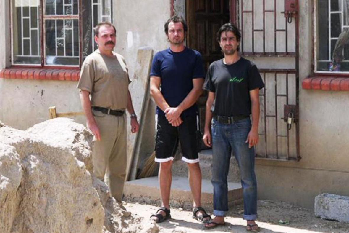 Michal Vebr (zleva), Jiří Cetel a Jan Coufal