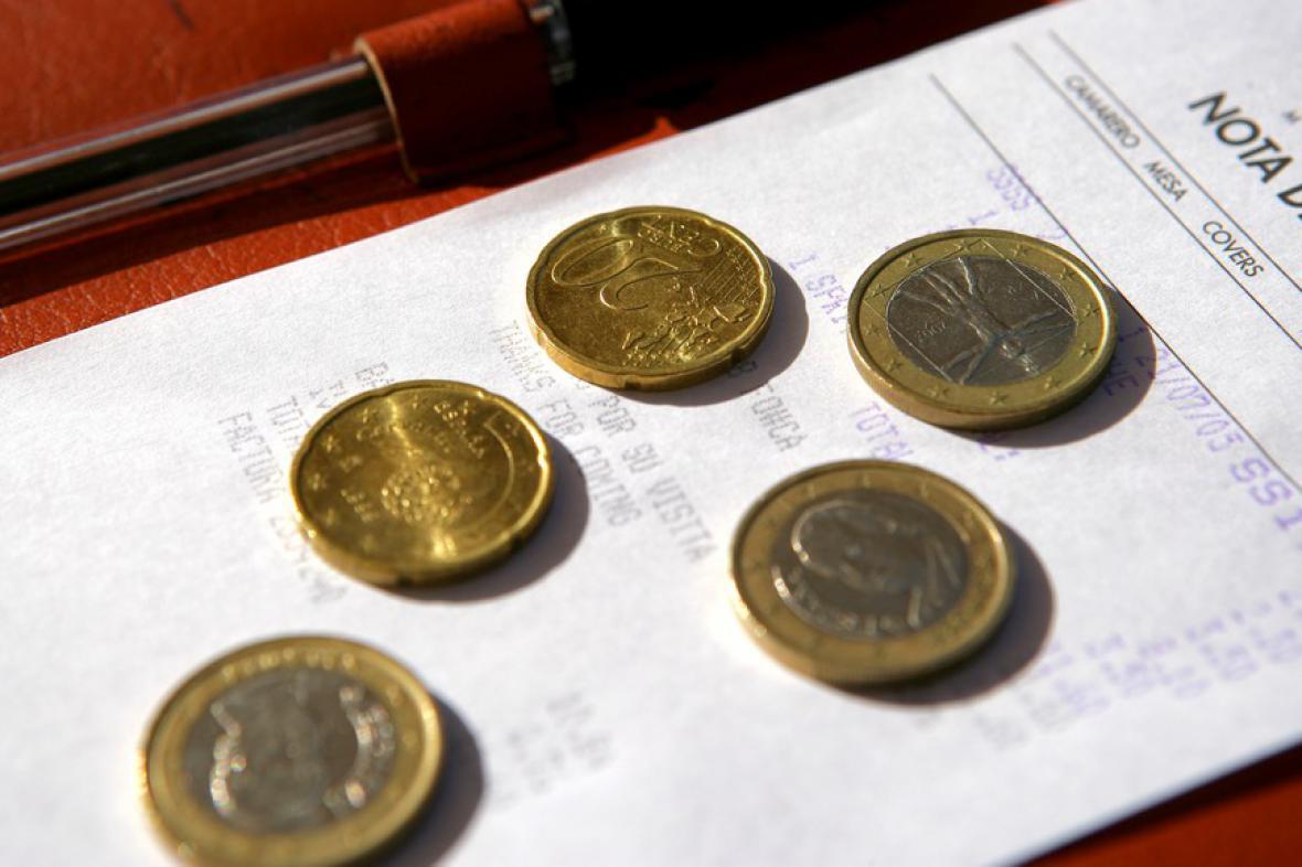 Účet za euro