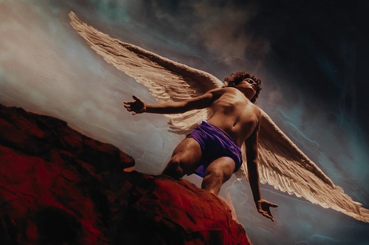 David LaChapelle / Archanděl Gabriel 2