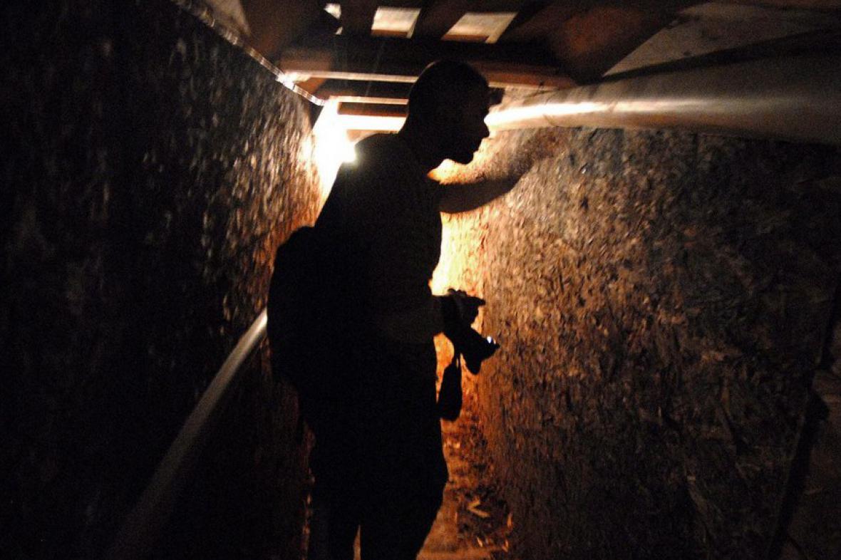 Tunel pro pašování