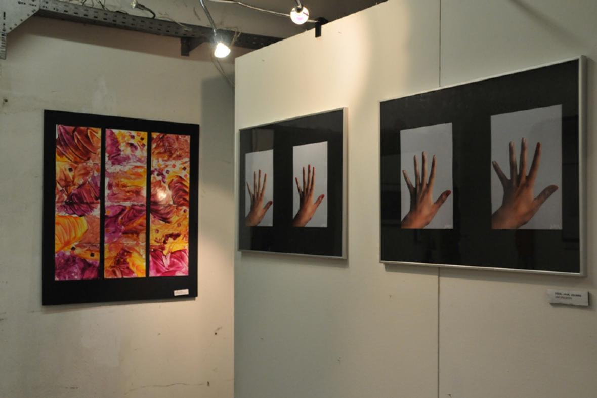 Z instalace výstavy