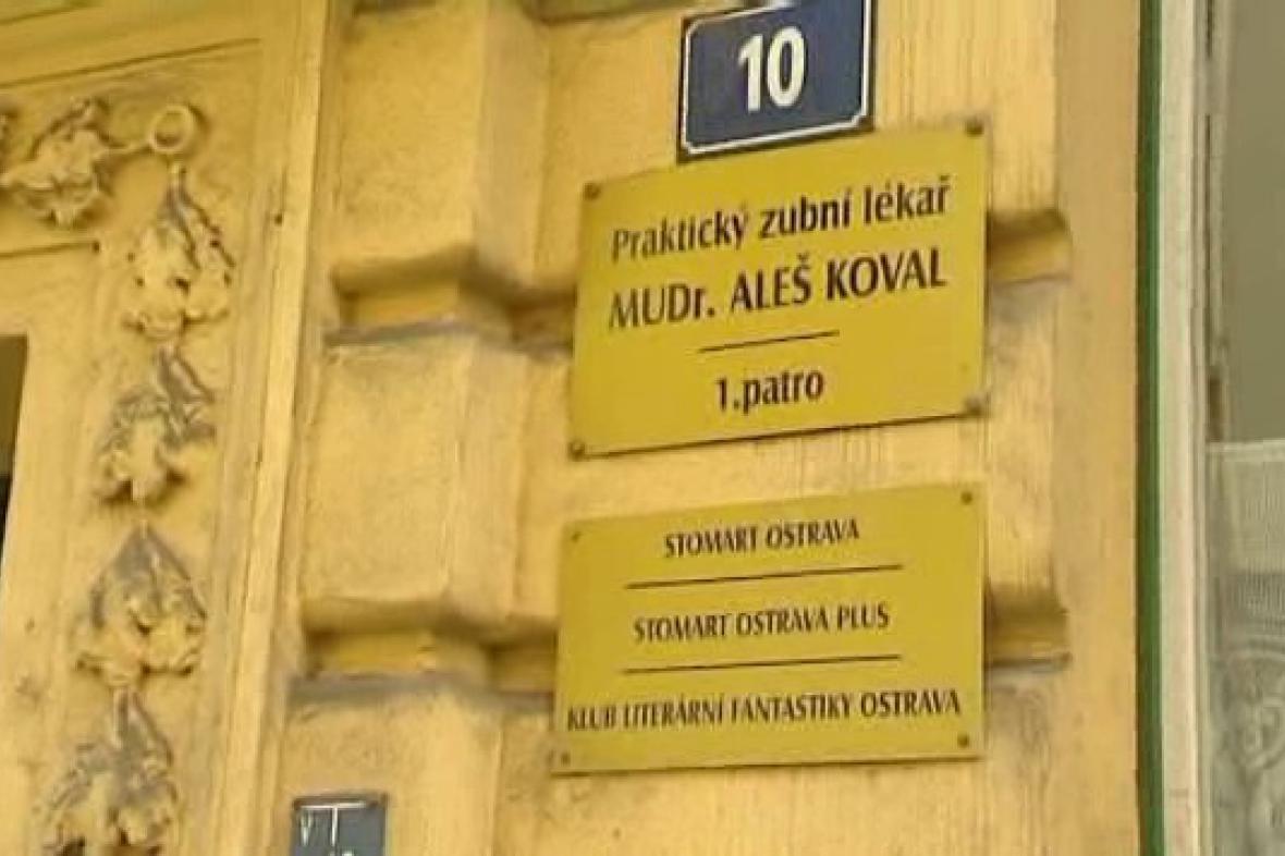 Stomatologická ordinace v centru Ostravy