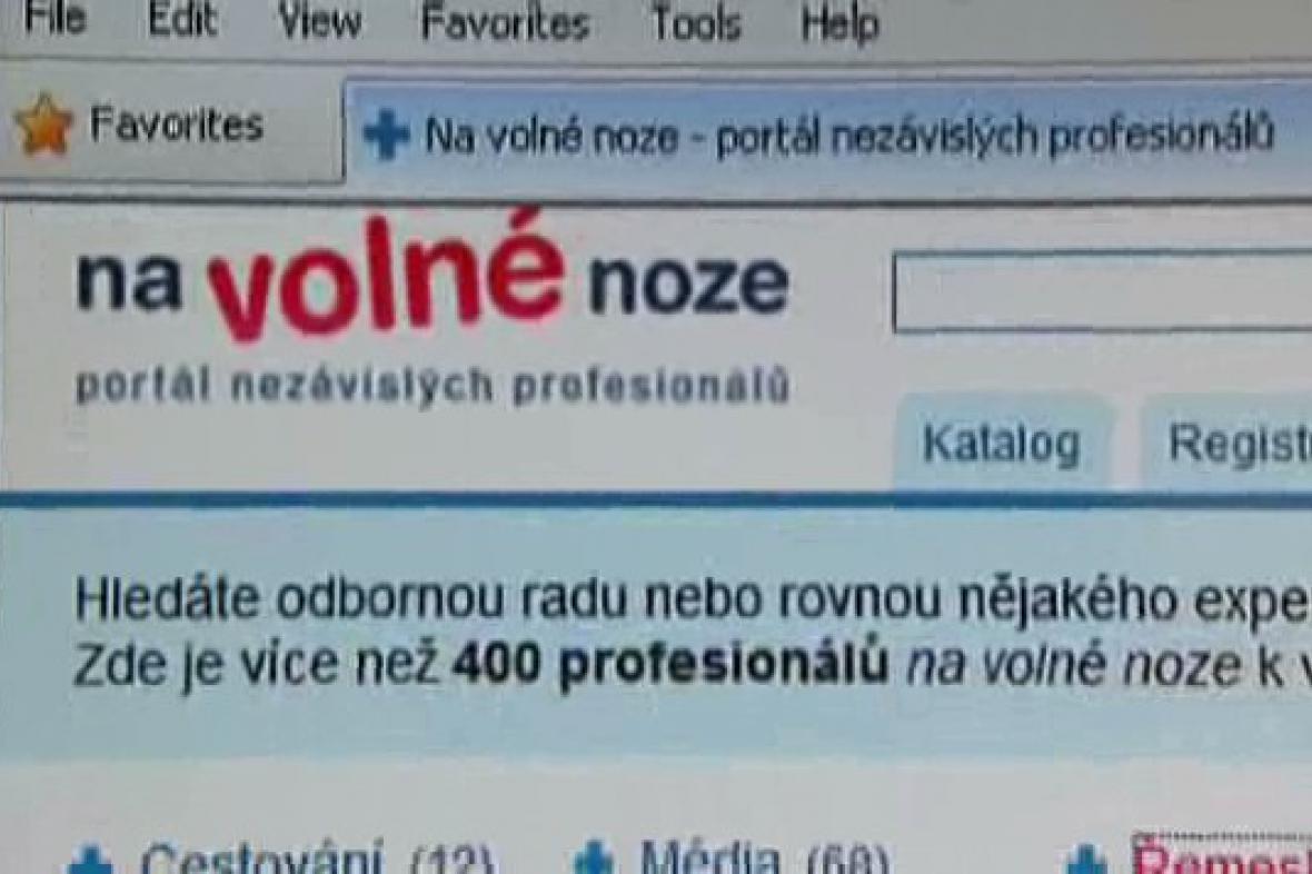 Úspěšný internetový server