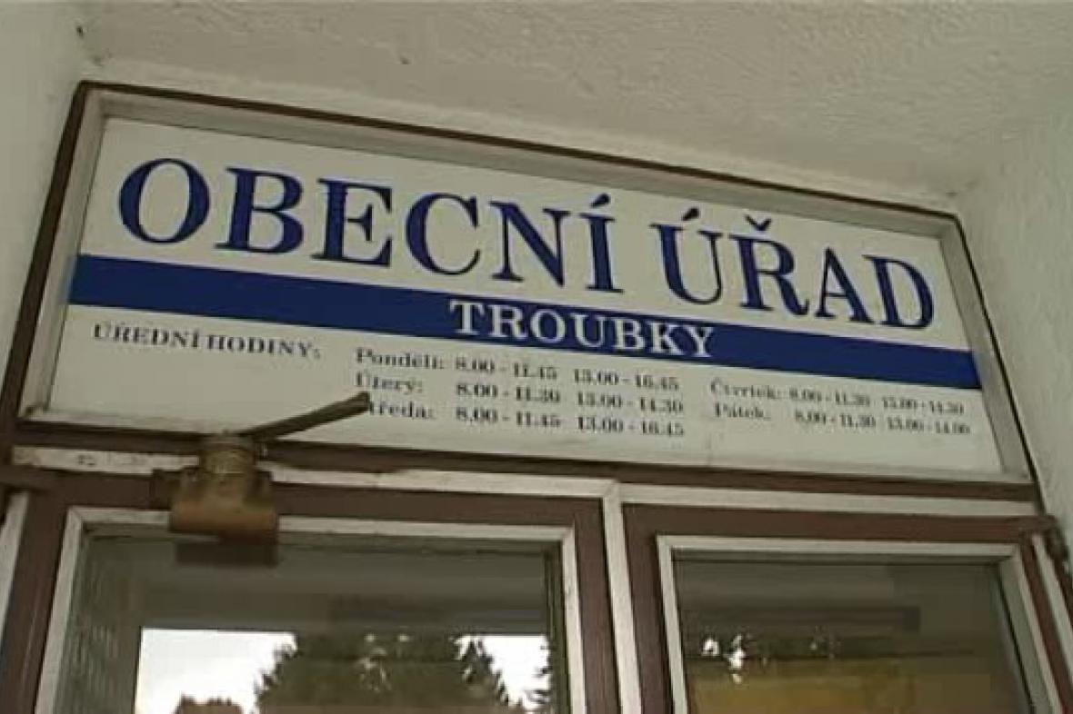 Obecní úřad v Troubkách
