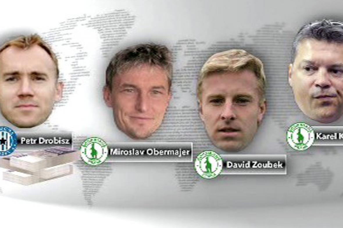 Aktéři údajné korupce v zápasu Olomouc - Bohemians Praha