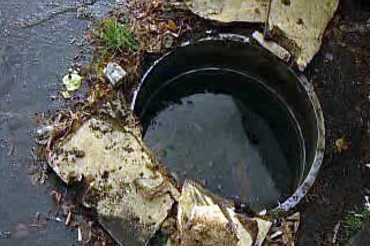 Odkrytá kanalizace