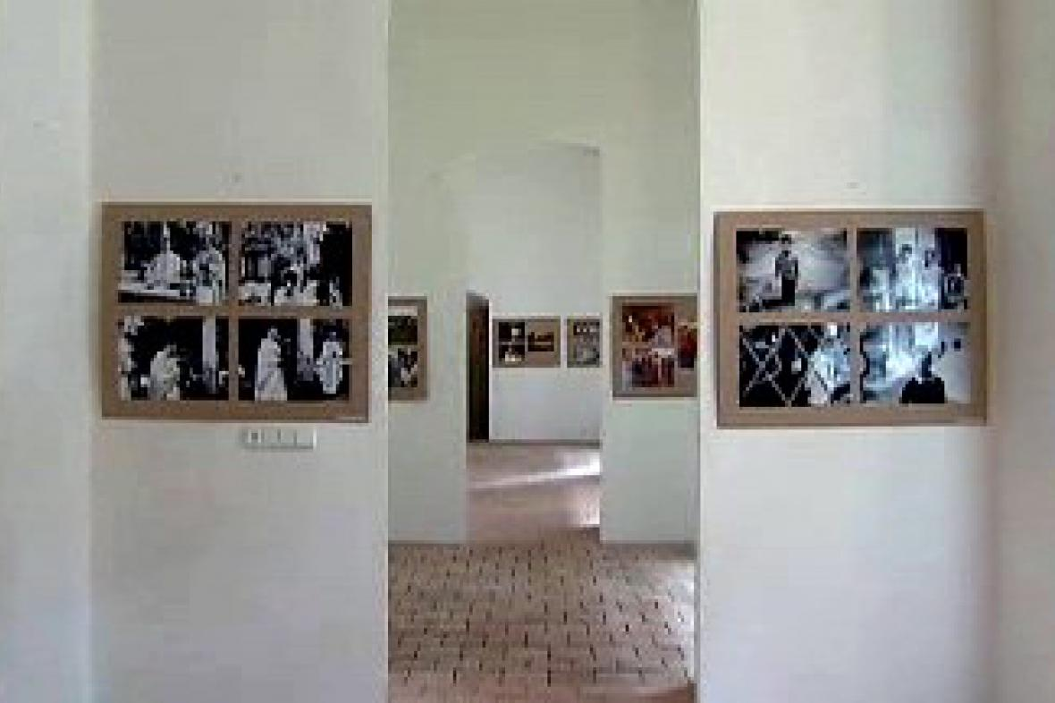 Výstava fotografií v klášteře
