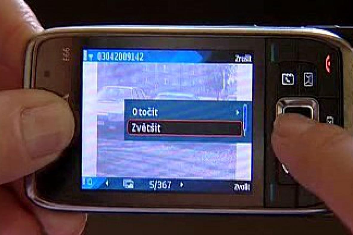 Foto v mobilu
