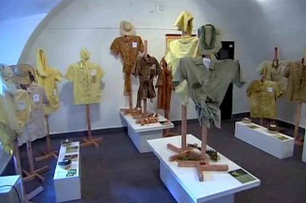 Výstava Rostlinné barvení