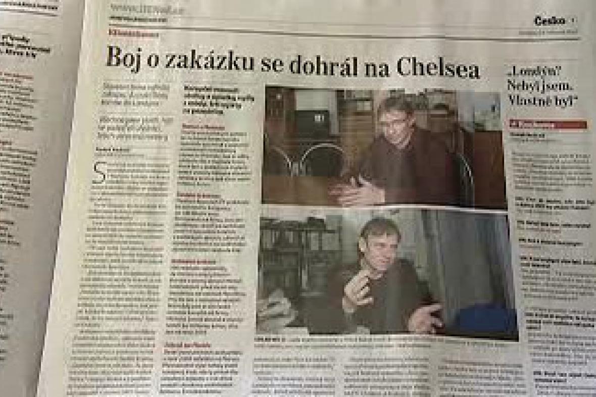 Novinový článek