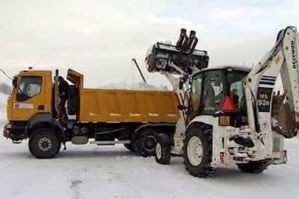 Úklid sněhu