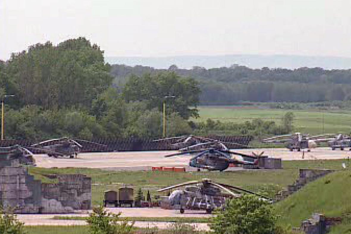Přerovská vrtulníková základna