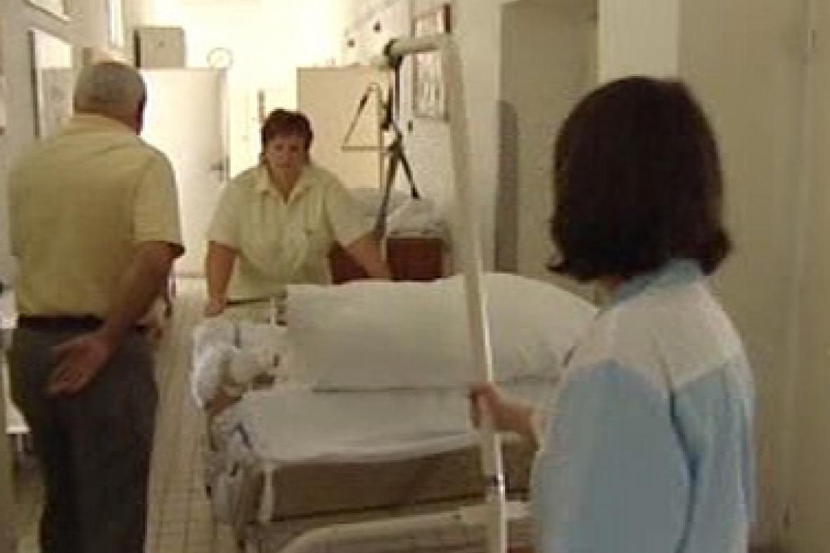 Interiér nemocnice