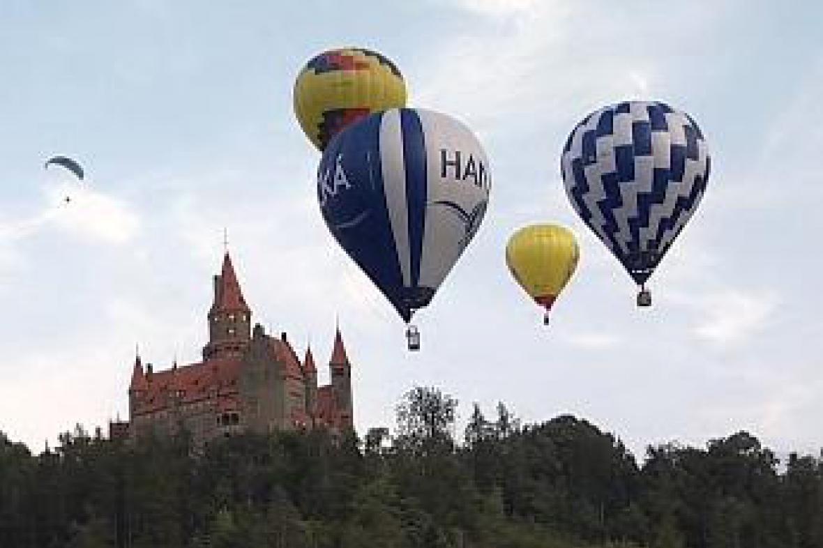 Balóny nad Hradem