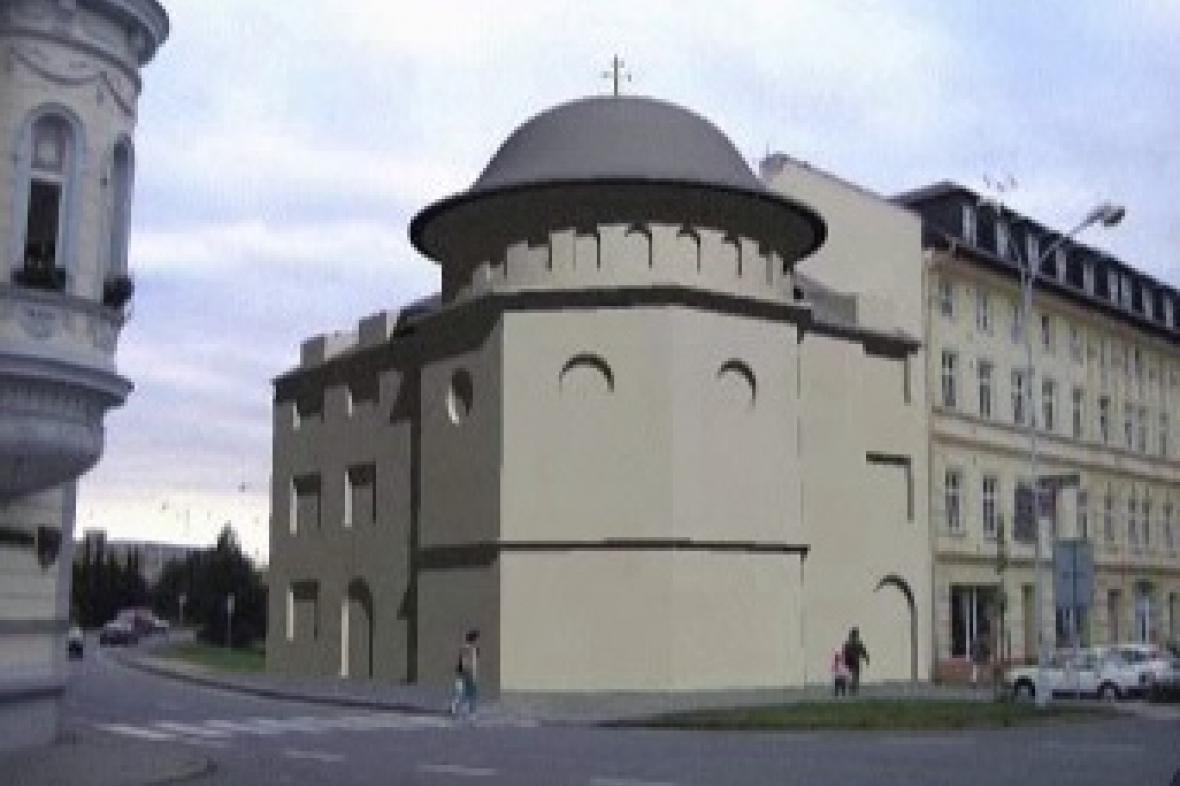 Návrh krnovského chrámu