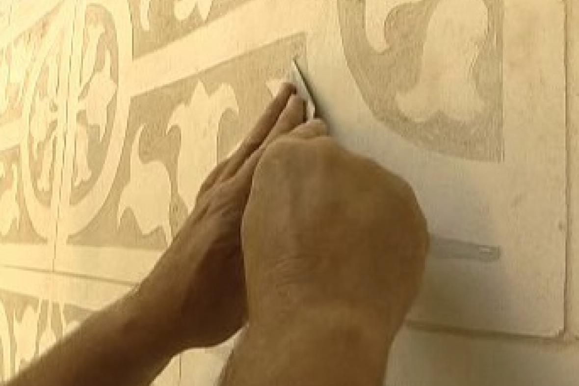 Malířská technika sgrafito