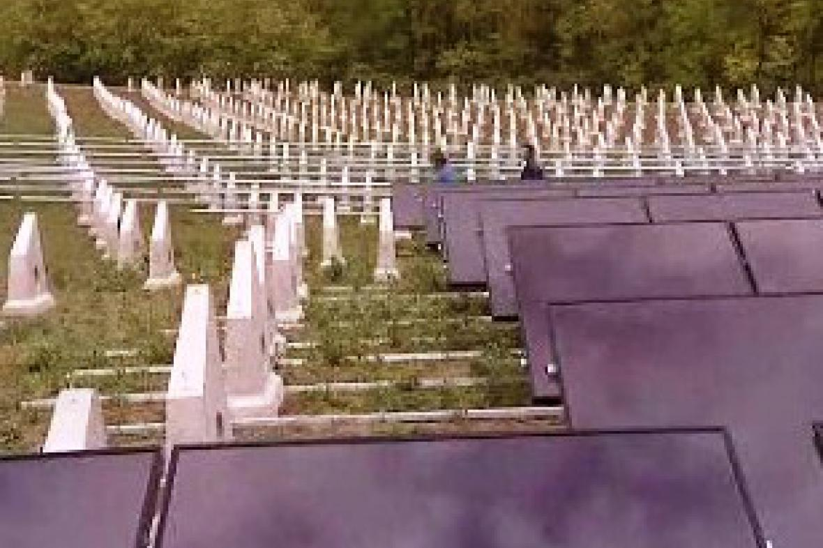 Solární elektrárna na Znojemsku