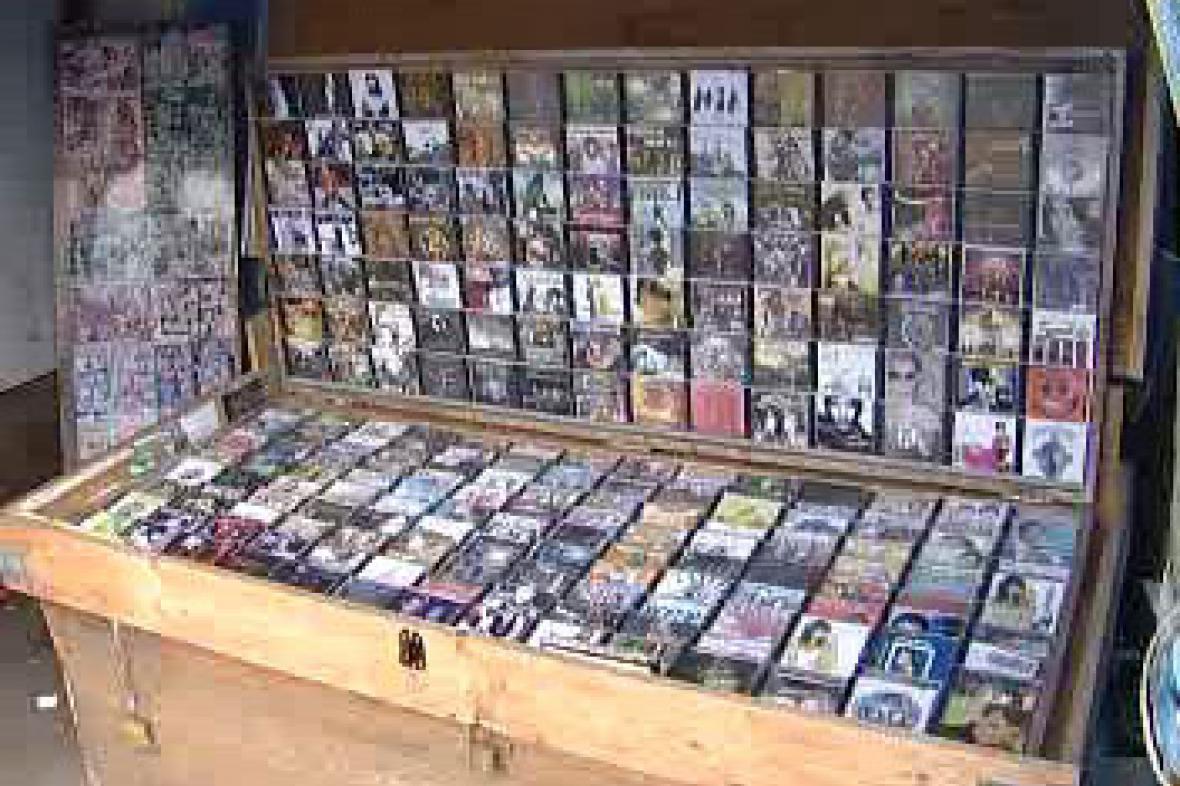 Prodej padělaných CD
