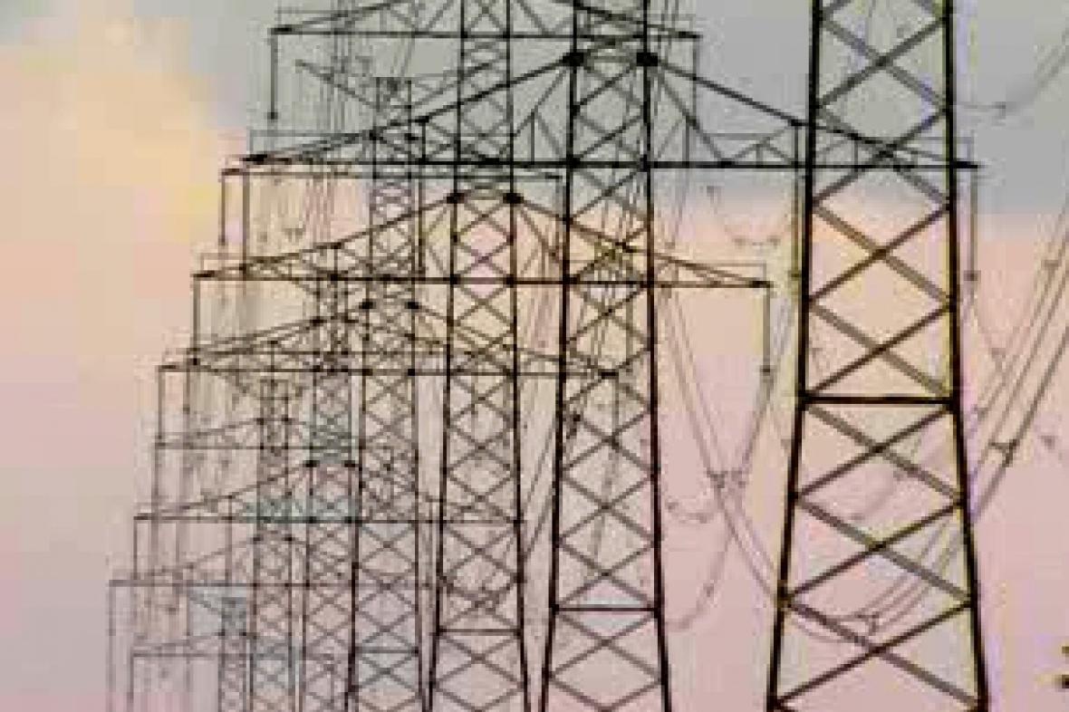 Sloupy elektrického vedení