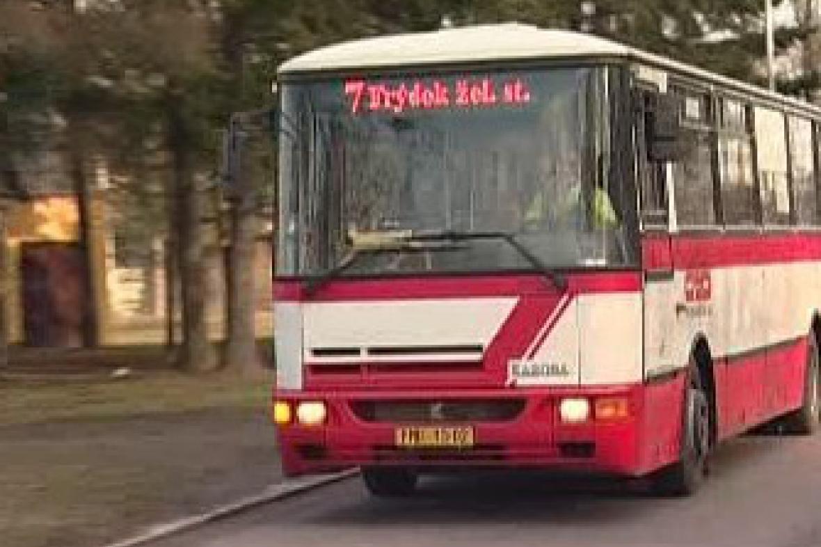 Autobus ve Frýdku-Místku