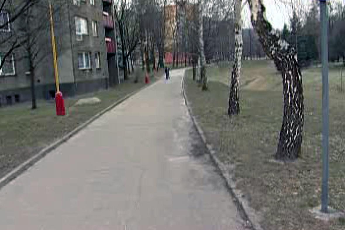 Současná cyklostezka v Kopřivnici