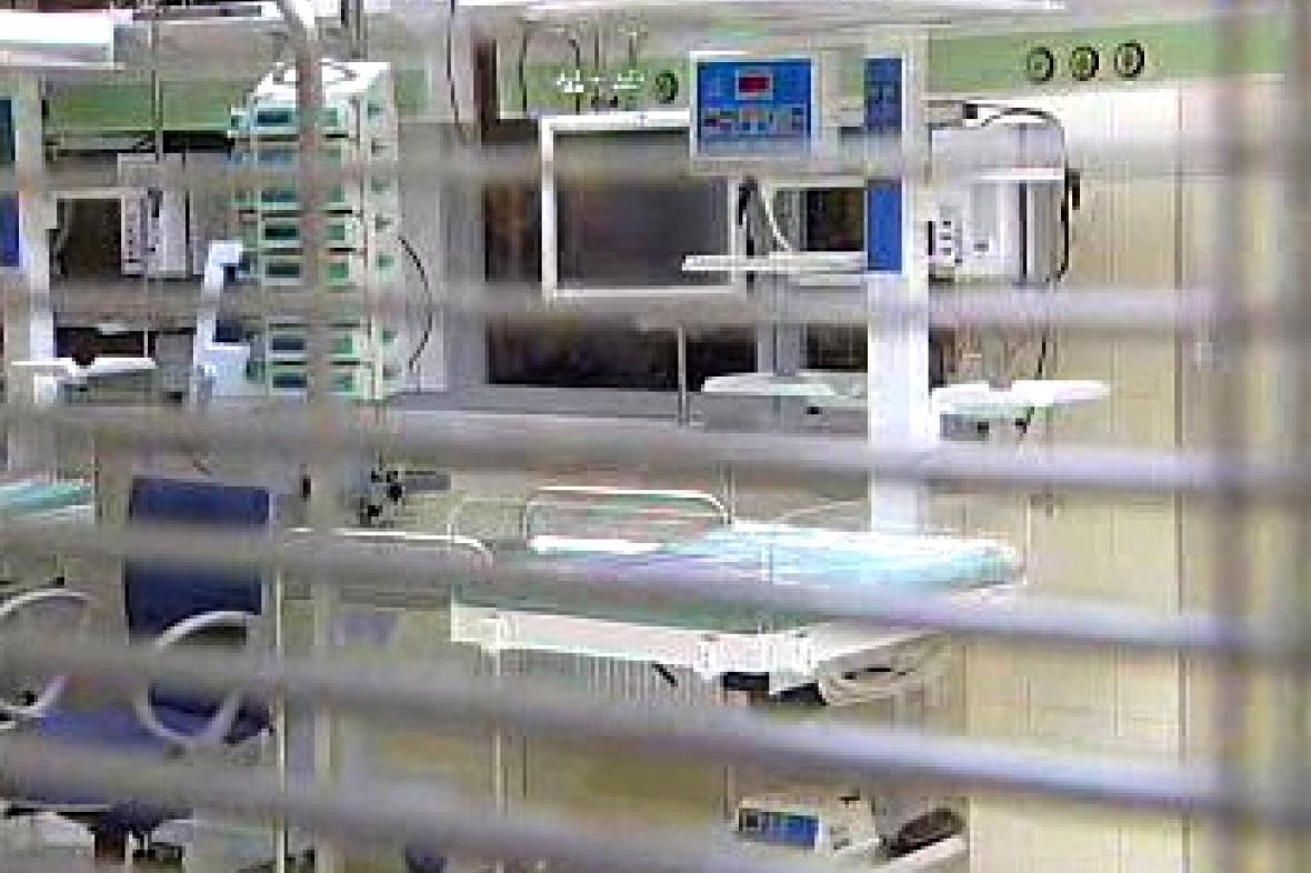 Nemocniční přístroje