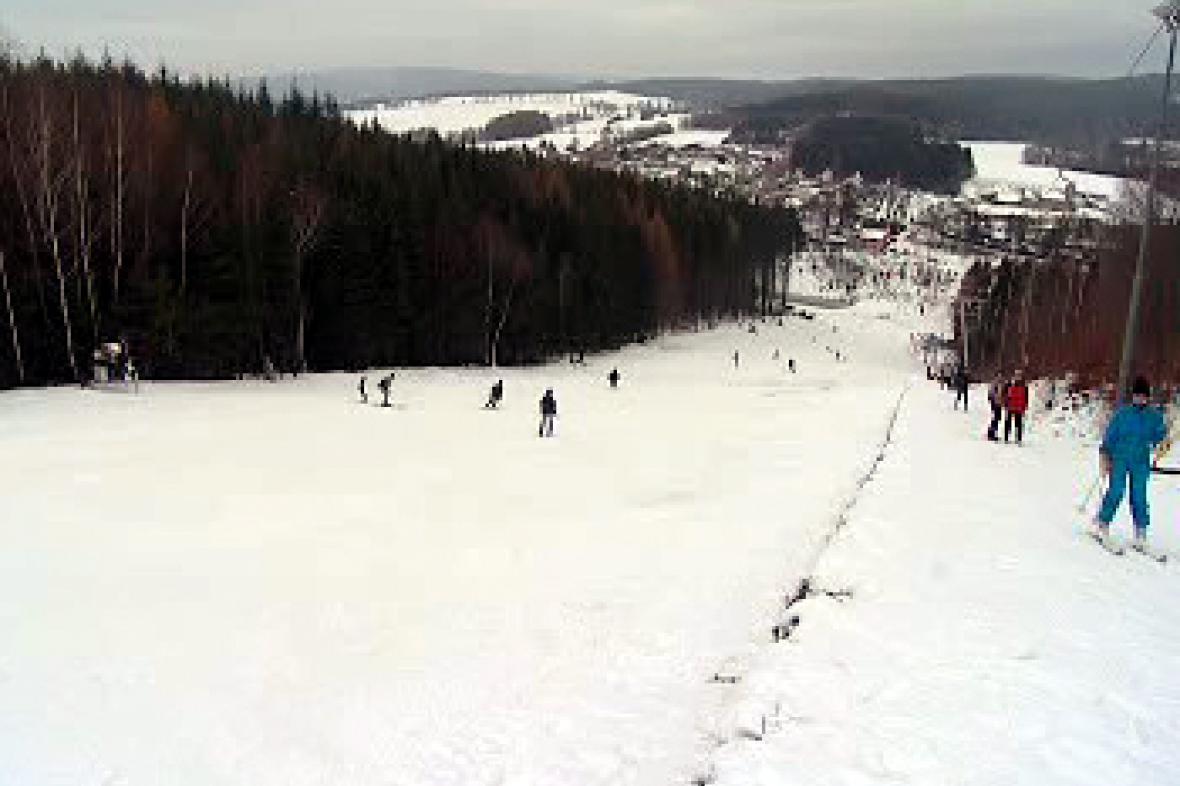 Sjezdovka ve Zborné u Jihlavy