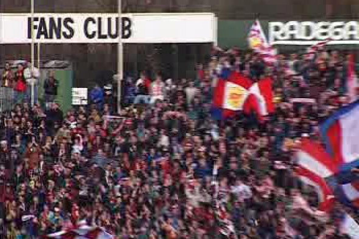 Fanoušci 1. FC Brno