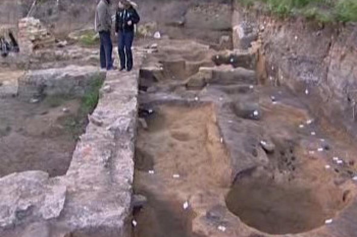 Archeologické naleziště v Opavě
